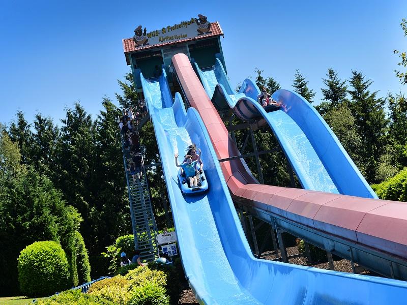 Dinghy water slide